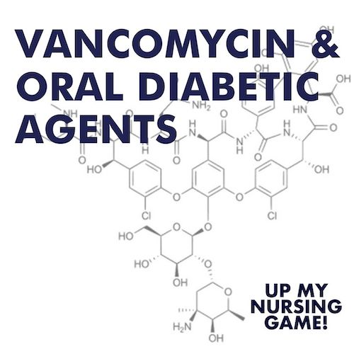 #21 Vancomycin and Oral Diabetic Agents